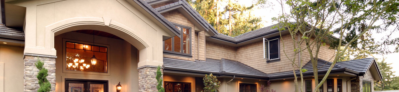 Fancy Home with Clean Gutters