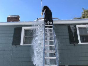 Snow Removal from Gutters